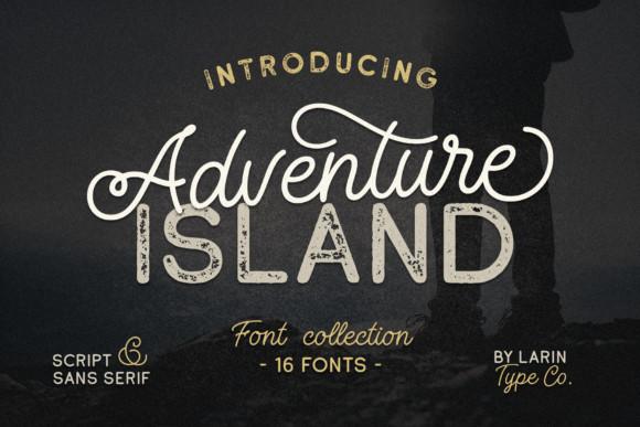 Adventure Island Font Duo