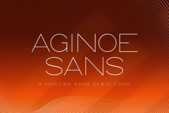 Aginoe Sans Font