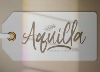 Aquilla Font