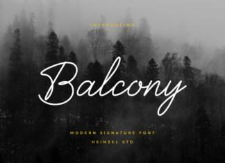 Balcony Font