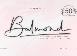Balmond Font