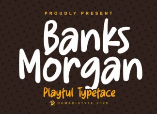 Banks Morgan Font
