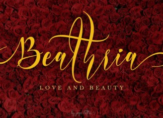 Beathria Font