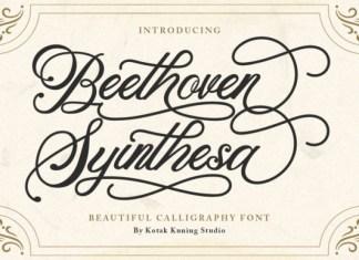Beethoven Syintesa Font