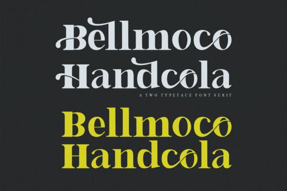 Bellmoco Handcola Font