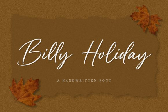 Billy Holiday Font