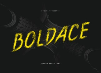 Boldace Font