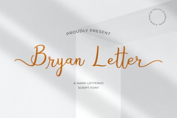 Bryan Letter Font