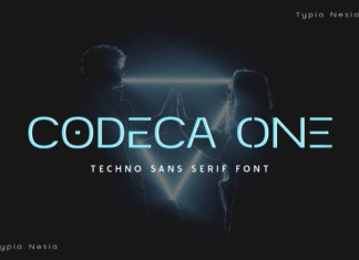 Codeca One Font