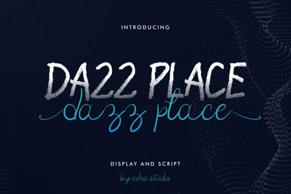 Dazz Place Font Duo
