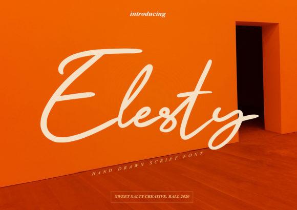 Elesty Font