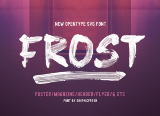 Frost Font