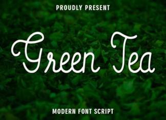 Green Tea Font