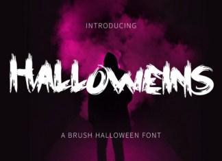 Halloweins Font