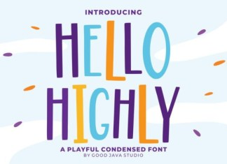 Hello Highly Font