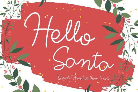 Hello Santa Font