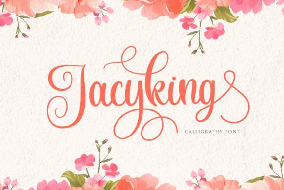 Jacyking Font