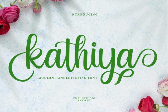 Kathiya Font