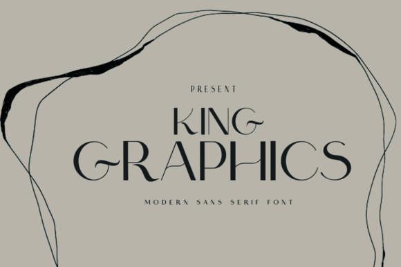 King Graphics Font
