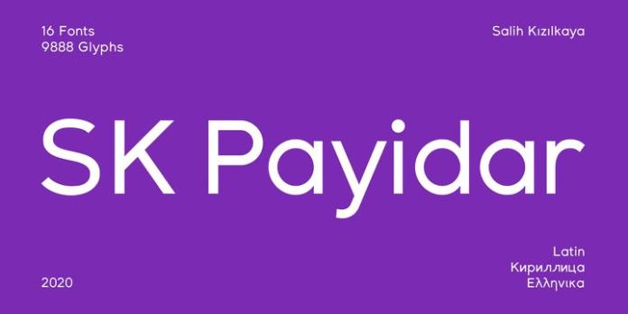 SK Payidar Font