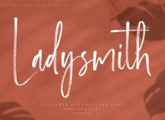 Ladysmith Font