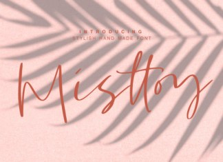 Misttoy Font