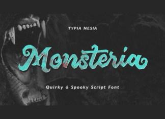 Monsteria Font