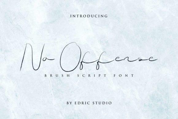 No Offense Font