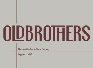 Old Brothers Font