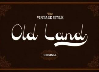 Old Land Font