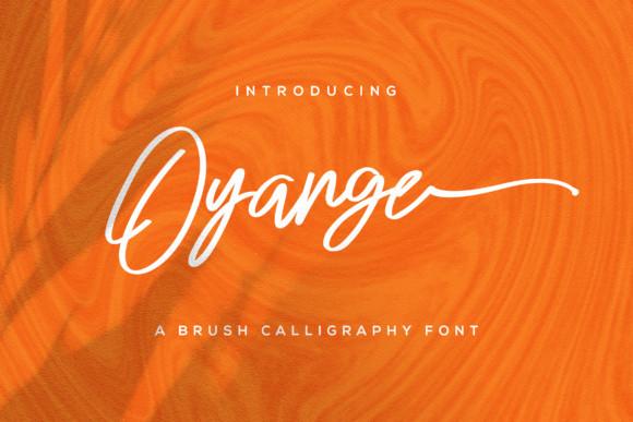 Oyange Font