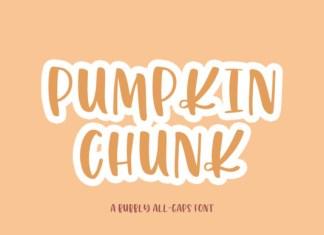 Pumpkin Chunk Font
