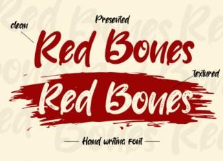 Red Bones Font