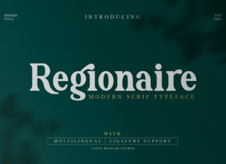 Regionaire Font