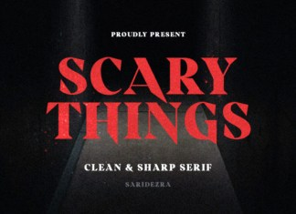 Scary Things Font