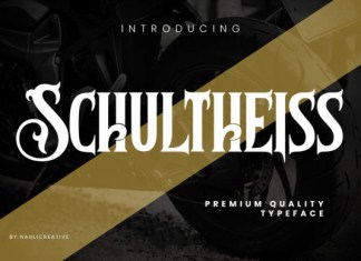 Schultheiss Font