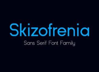 Skizofrenia Font