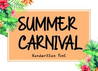 Summer Carnival Font