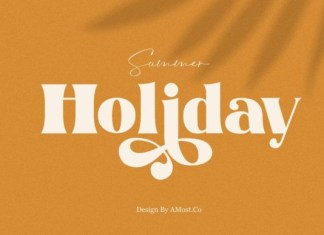 Summer Holiday Font