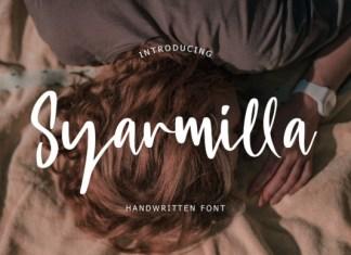 Syarmilla Font