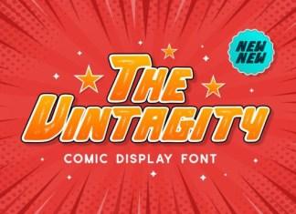 The Vintagity Font