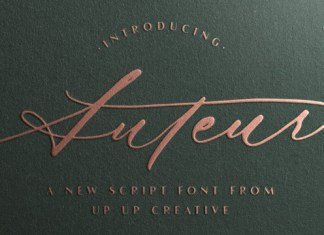 Auteur Font