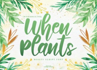 When Plants Font