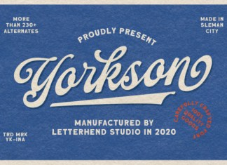 Yorkson Font
