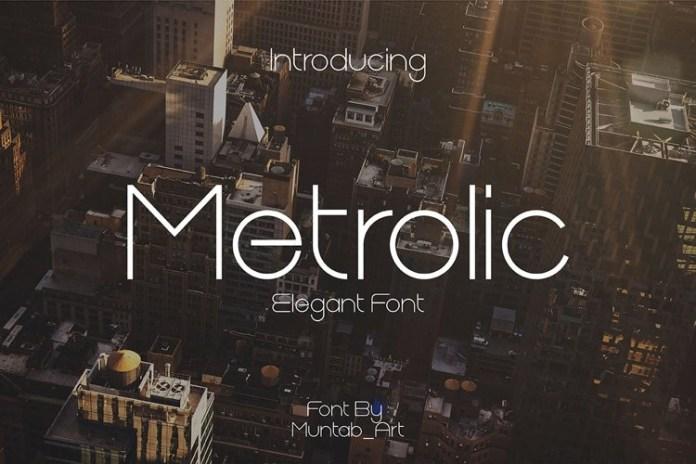 Metrolic Font
