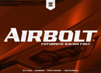 AIRBOLT Font