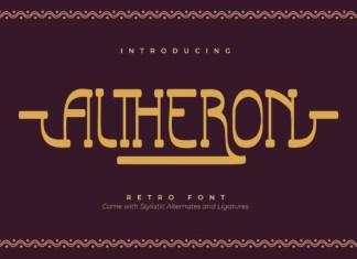 Altheron Font