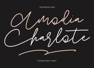 Amodia Charlote Font