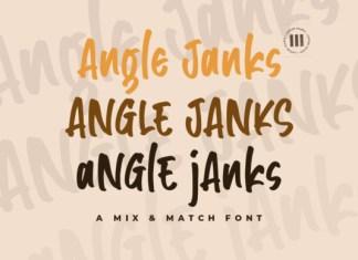 Angle Janks Font