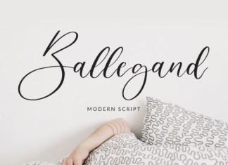 Ballegand Font